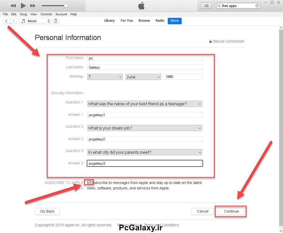 ساخت اپل آیدی رایگان Apple ID چگونه است ؟