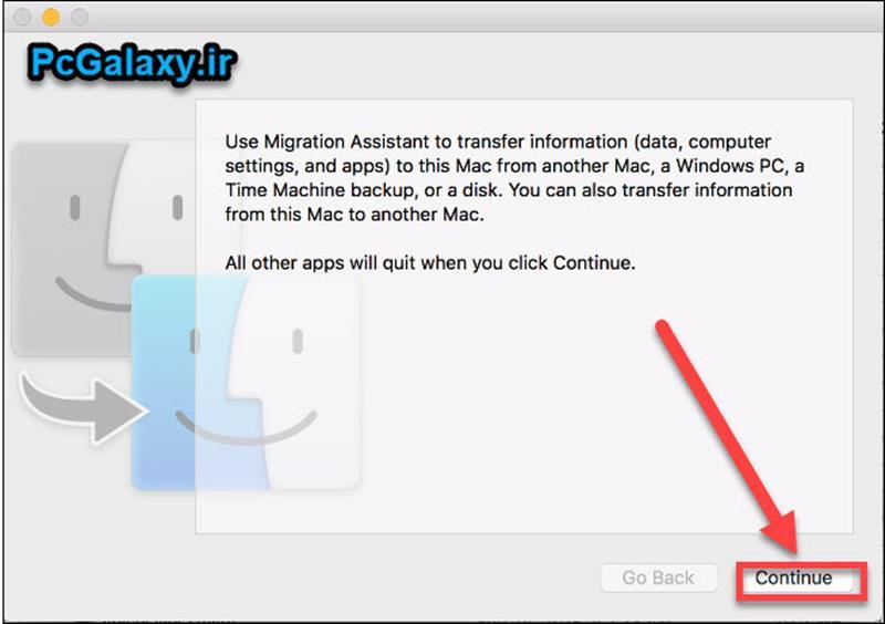 انتقال فایل از سیستم عامل ویندوز به مک چگونه است؟