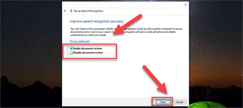آموزش فعال کردن دستیار صوتی در ویندوز 10