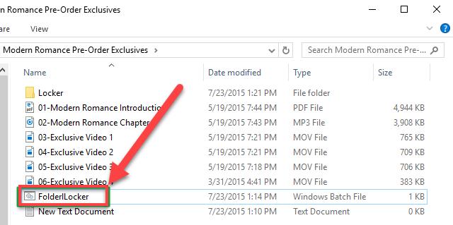 آموزش قفل گذاری روی پوشه ها در ویندوز 10 بدون استفاده از نرم افزار