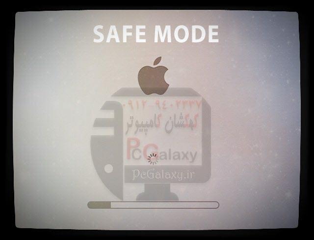 حل مشکل سفید شدن صفحه نمایش در مک